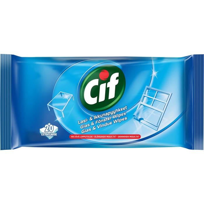 Салфетки для стекла Cif