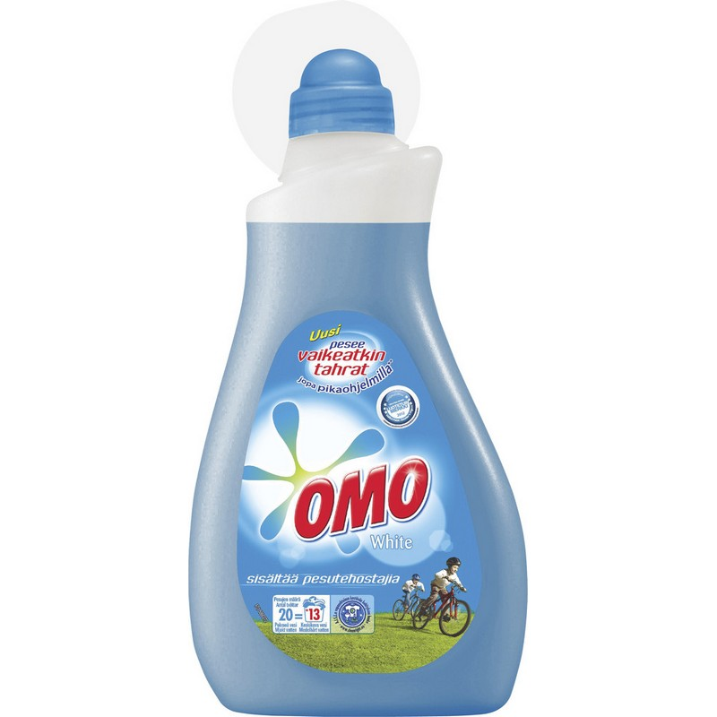 Гель для стирки белого OMO