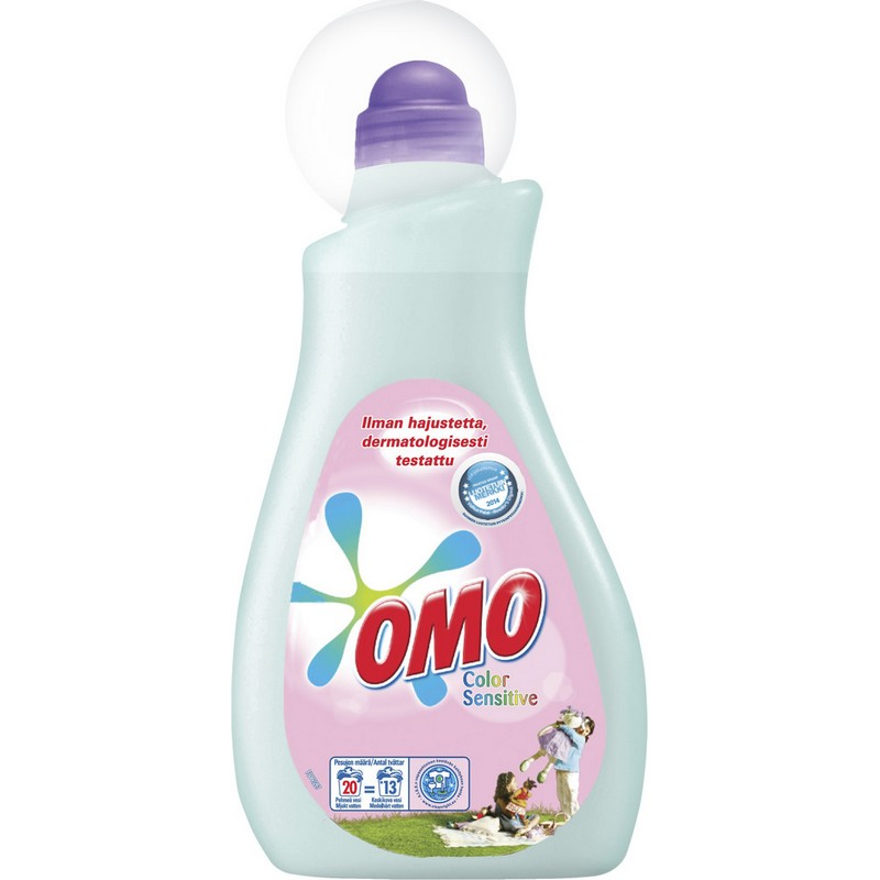 Гель для стирки OMO из Финляндии