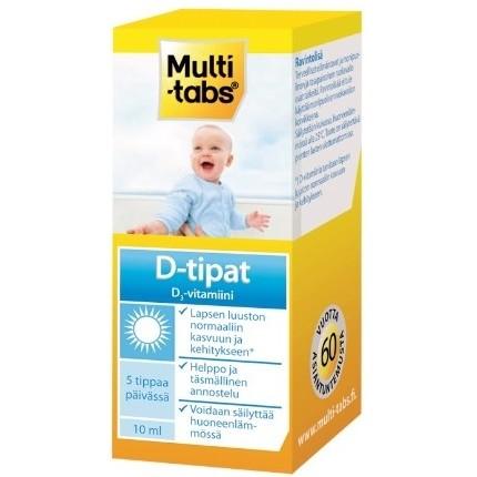 мультитабс витамин Д3 для детей