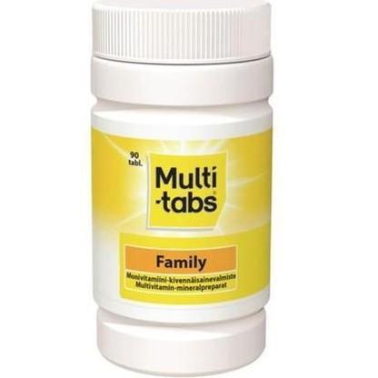 multitabs витамины из Финляндии