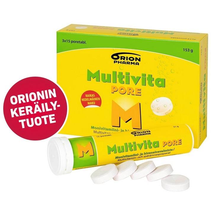 multivita шипучие витамины из Финляндии