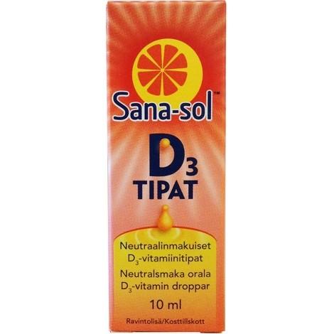 sanasol витамин для детей Д3