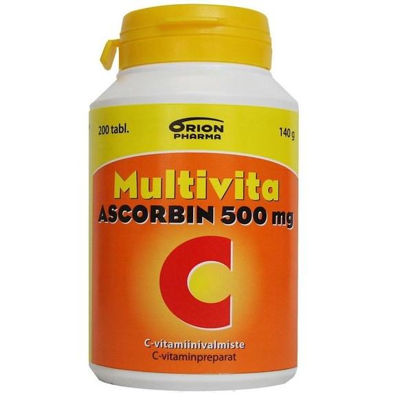 витамин С 500 из Финляндии