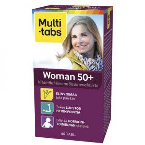 Финские Поливитамины для женщин от 50 лет Multi-tabs