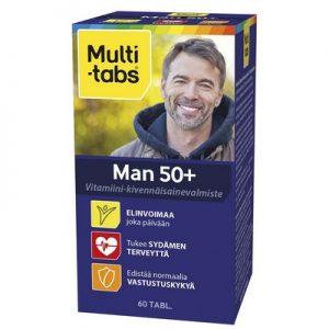 Финские Поливитамины для мужчин от 50 лет Multi-tabs Man