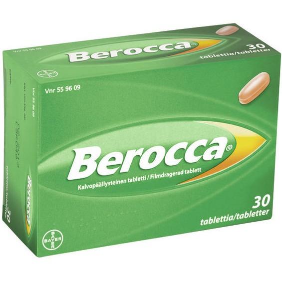 berocca берокка витамины из Финляндии