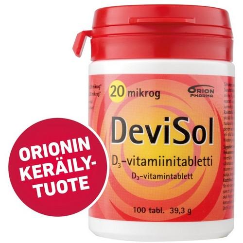 devisol девисол витамин Д из Финляндии