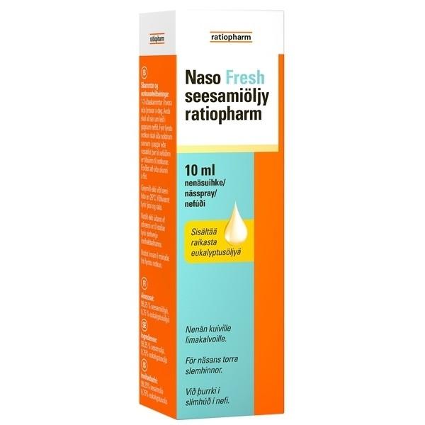 naso_fresh свежий спрей масло для сухого носа
