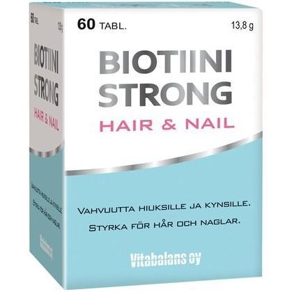 Biotiini биотин для волос и кожи