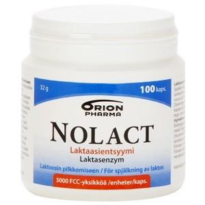 Nolact фермент лактаза