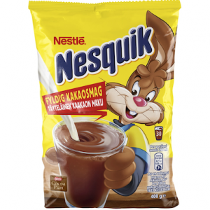 Какао из Финляндии Несквик