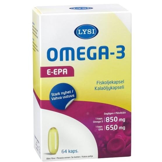E-epa Омега 3 из Финляндии
