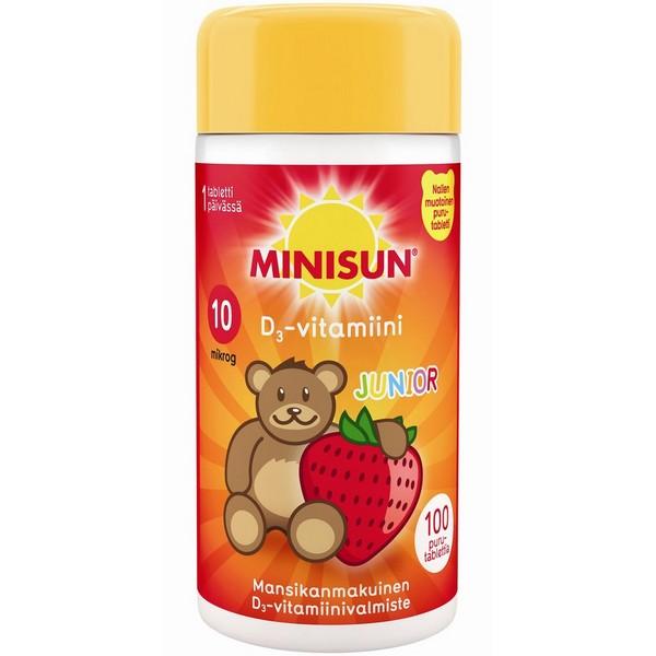 Minisun_D3 витамин Д3 для детей