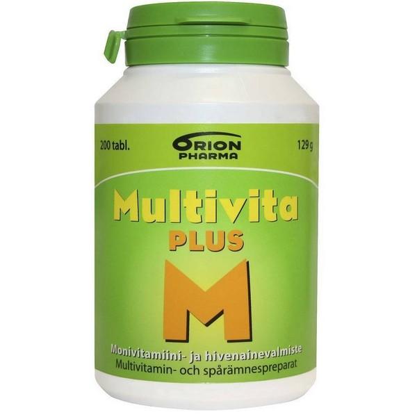 Multivita комплексные витамины из Финляндии