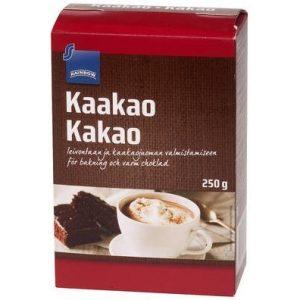 темный шоколад какао из Финляндии