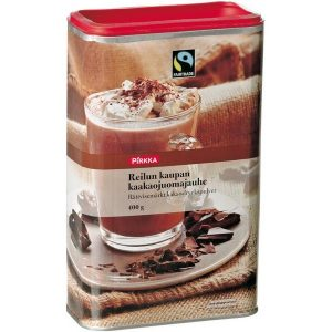 Какао из Финляндии Pirkka