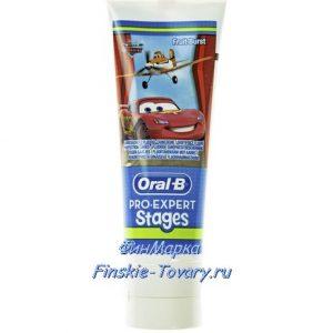 детская зубная паста из Финляндии