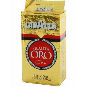 Кофе молотый из Финляндии Lavazza Qualita Oro