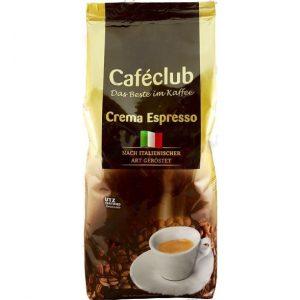Кофе из Финляндии в зёрнах CafeClub Crema Espresso