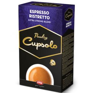 Paulig Капсулы кофе Cupsolo Espresso Ristretto