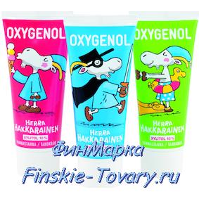 Oxygenol детская зубная паста