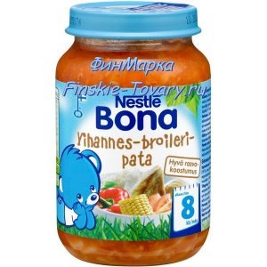 Детское питание из Финляндии Bona