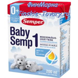 Детское питание из Финляндии Semper