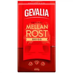 Кофе в зёрнах GEVALIA Original Mellanrost