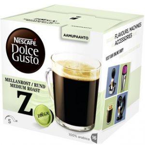 Капсулы кофе Dolce Gusto Zoegas Mellanrost