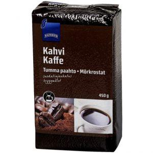 Кофе из Финляндии Kahvi tumma paahto