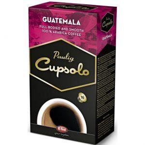 Капсулы кофе Paulig Cupsolo Guatemala