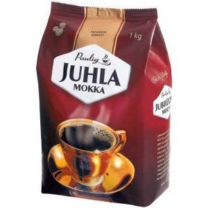 Финский Кофе в зёрнах Pauling Juhla Mokka Coffee