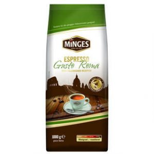 Кофе зерновой minges espresso gusto roma