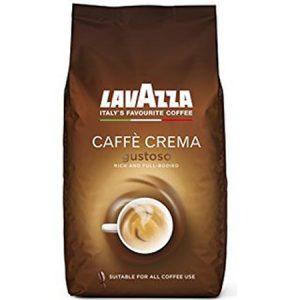 Кофе зерновой LAVAZZA CAFFÈ CREMA GUSTOSO, 1 КГ