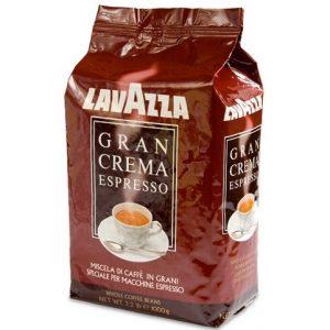 Кофе из Финляндии в зёрнах Lavazza Gran Crema Espresso