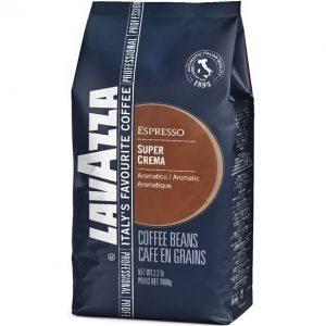 Кофе в зернах Lavazza super crema