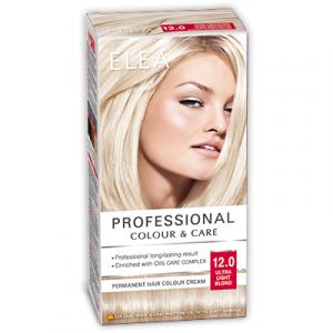 Краска-крем для волос ELEA Professional Color & CARE, № 12/0 Ультра-светлый