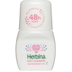 Дезодорант 48 часов защиты Herbina Soft Cashmere