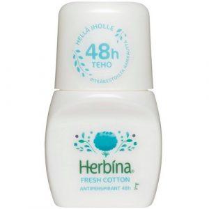 Дезодорант 48 часов защиты Herbina Fresh Cotton
