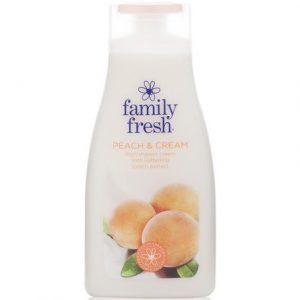 Крем-гель для душа Family Fresh Peach Cream персиковый
