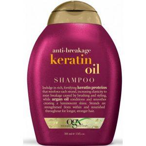 Шампунь восстанавливающий с кератином Ogx Keratin Oil Shampoo