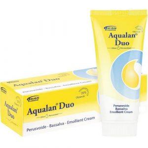 Aqualan duo лёгкий лосьон для жирной и чувствительной кожи