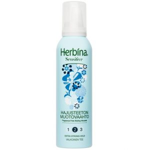 Мусс для волос без запаха Нerbina