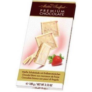 белый шоколад из Финляндии