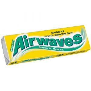 Жевательная резинка мята лимон Airwaves