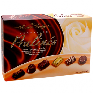 Набор шоколадных конфет пралине из Финляндии