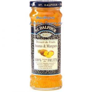 Конфитюр ананас-манго St. Dalfour