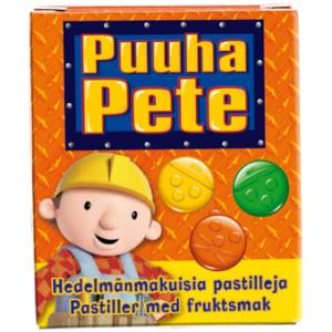 Детские жевательные пастилки Puuha-Pete из Финляндии