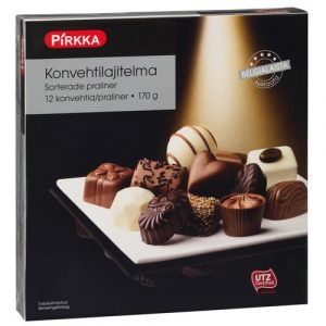набор конфет пралине из Финляндии